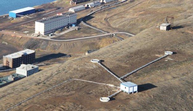 Шпицберген, станция приема спутниковых данных