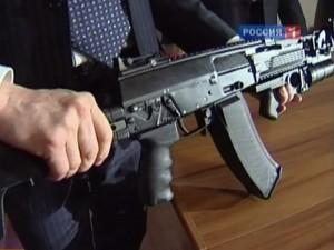 Россия утилизирует автоматы Калашникова