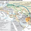 Линии коммуникаций НАТО к Афганистану