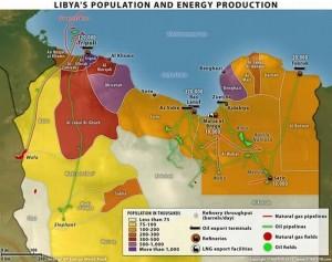 Распад Ливии на города-государства