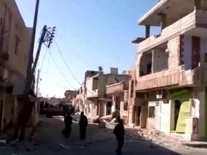 Бои в сирийском Хомса