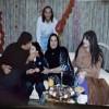Каддафи с членами семьи