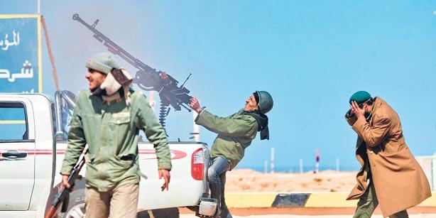 Гражданская война в Ливии продолжается