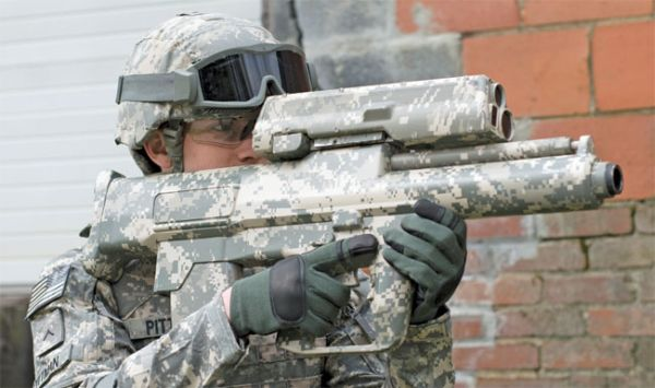 Система поражения укрытых целей XM25