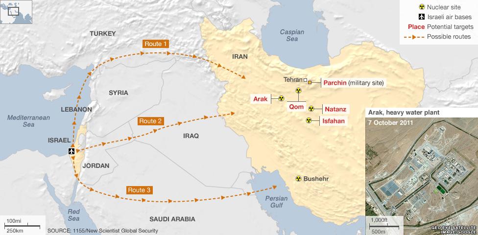 Ирано-израильский конфликт: удар по Ирану