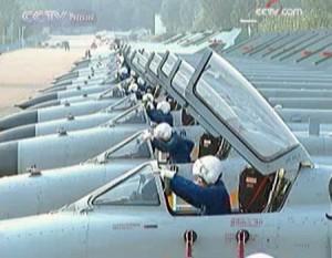 ВВС Китая к перехвату самолетов США и Японии готовы