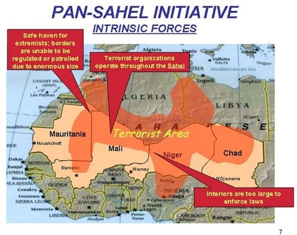Ситуациея в Сахаро-Сахельском регионе и Мали