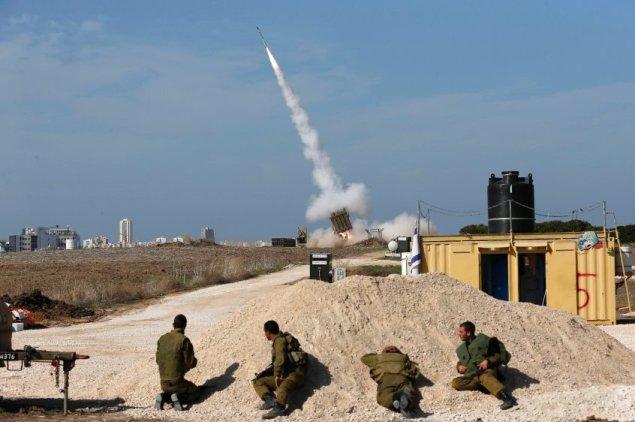 Палестина приветствовала Обаму ракетным ударом