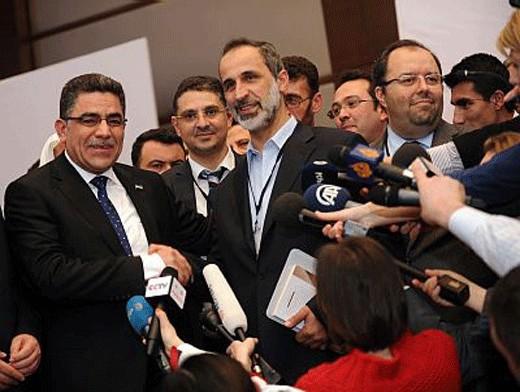 Оппозиционным главой Сирии выбран менеджер из США