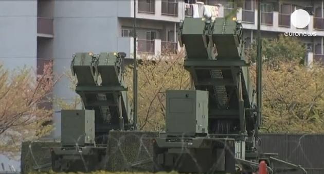 В центре Токио развернут противоракетный комплекс