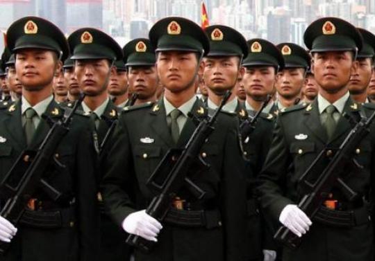 Китай озвучил численность своих вооруженных сил