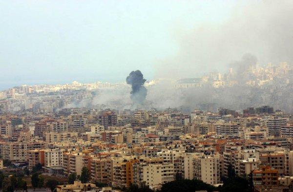 Южный Ливан ударил по Израилю