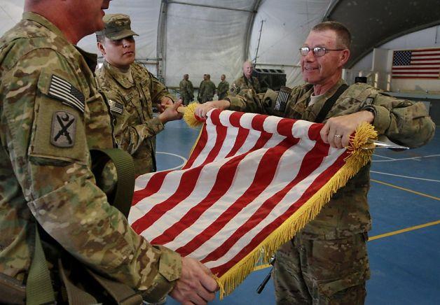 НАТО покидает Афганистан