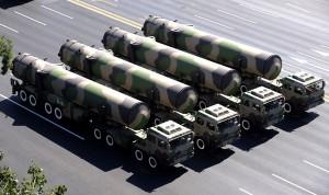 Китай обогнал всех по количеству ядерного оружия
