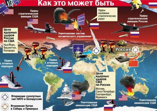 США за первые часы войны могут уничтожить 90% ракет России