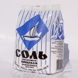 Запасайте соль: скоро нейодированную и соль без Е купить будет негде