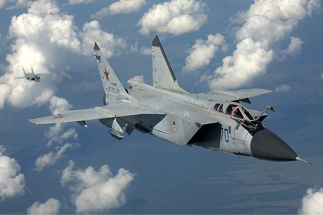 МиГ-31 - оружие против спутников врага