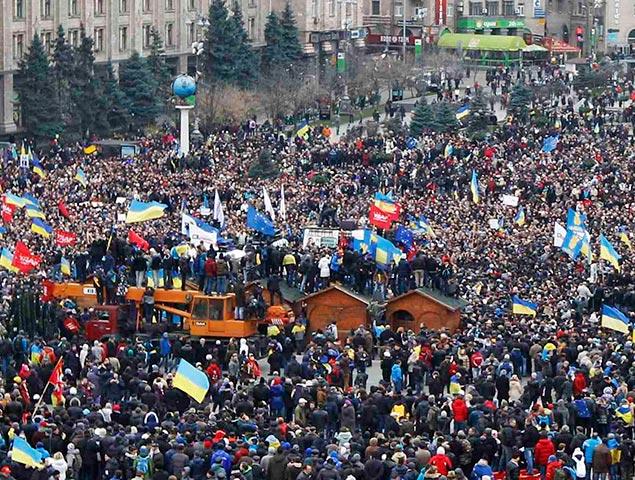 Треть украинцев поддерживает захват администраций