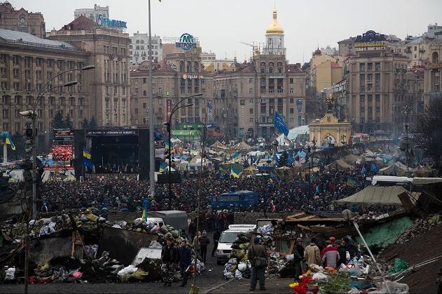 Революция в Украине: новости субботы
