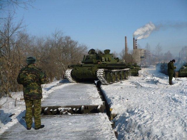 Внеплановые учения в армии России