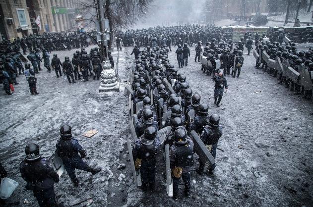 Органы МВД Украины перешли на сторону оппозиции
