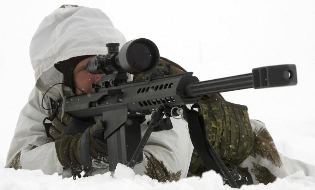 Российской армии требуются снайперы