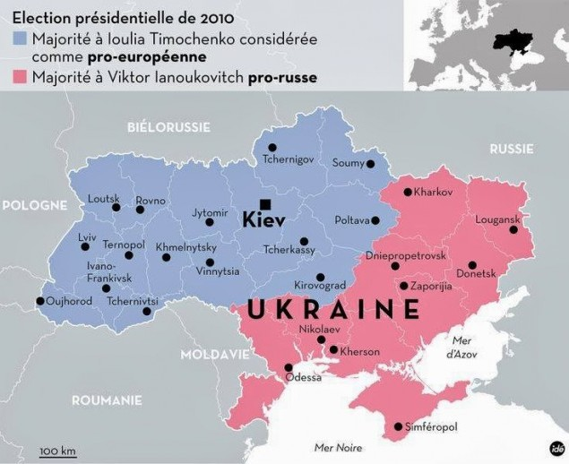Украину уже поделили