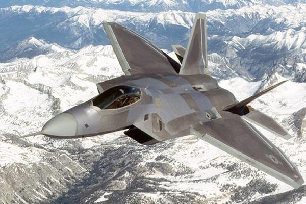американские истребители F-22