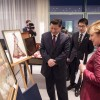 Меркель дарит карту Китая