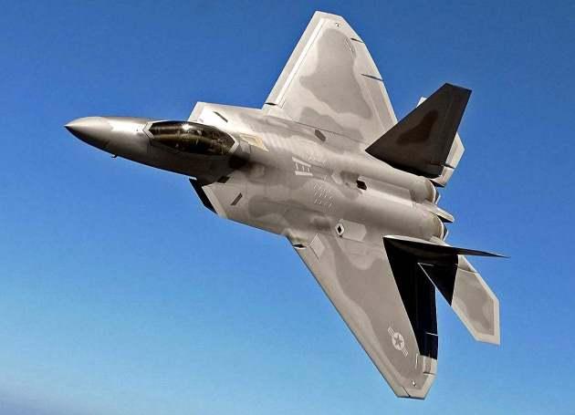 Тяжелый истребитель F-22А «Рэптор»