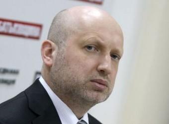 Турчинов объявил антитеррористическую операцию на востоке Украины
