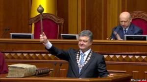 Богоизбранный президент Порошенко