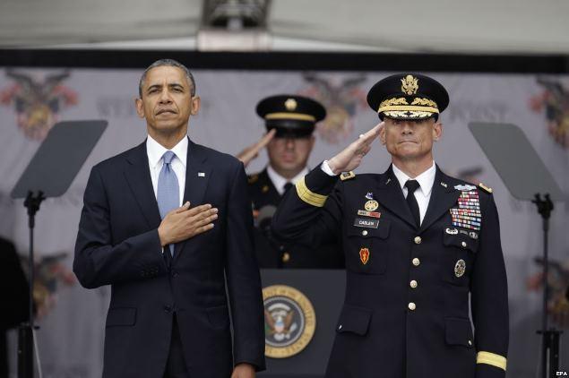 Обама в Вест-Поинте