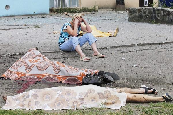 На Украине продолжается истребление мирного населения