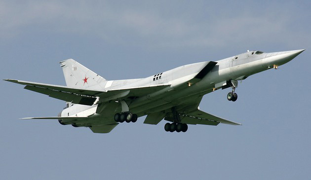 Дальний тяжёлый бомбардировщик-ракетоносец Ту-22М3