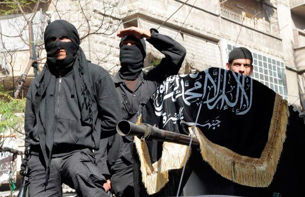 Боевики «Фронта ан-Нусра»
