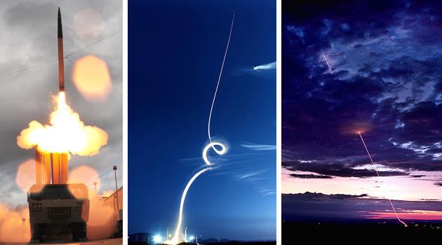 THAAD: запуск ракеты