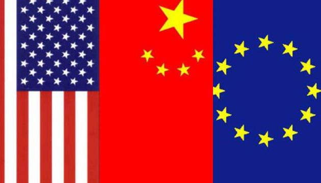 Субъекты Третьей мировой войны - США, Европа и Китай