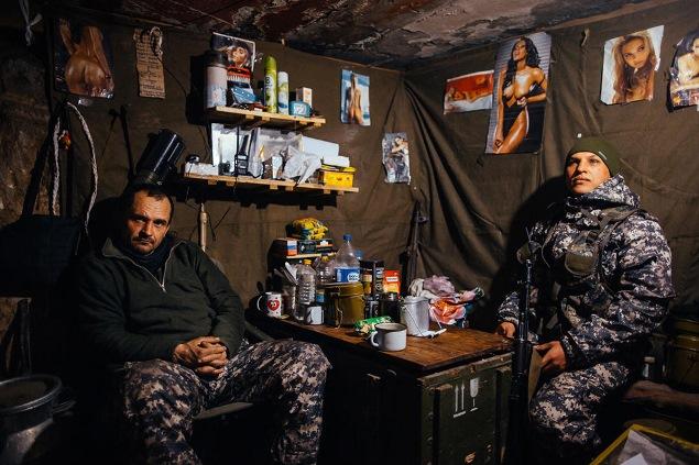 Рассказы солдат о войне на Украине