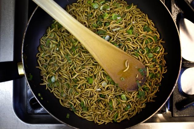 Рецепты из червей