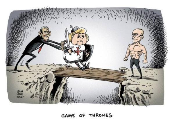 США толкают Европу воевать с Россией