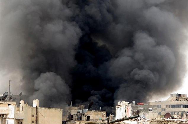 Россия бомбит позиции ИГИЛ