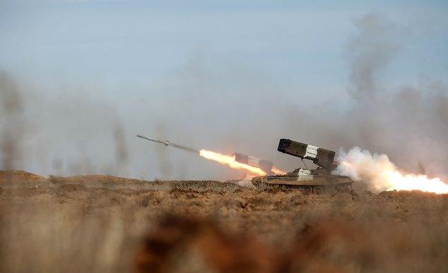 Тяжелая огнеметная система (ТОС-1) «Буратино»