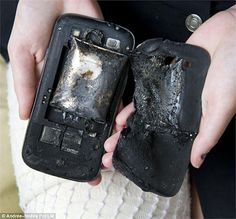 Последствия раздувания аккумулятора сотового телефона