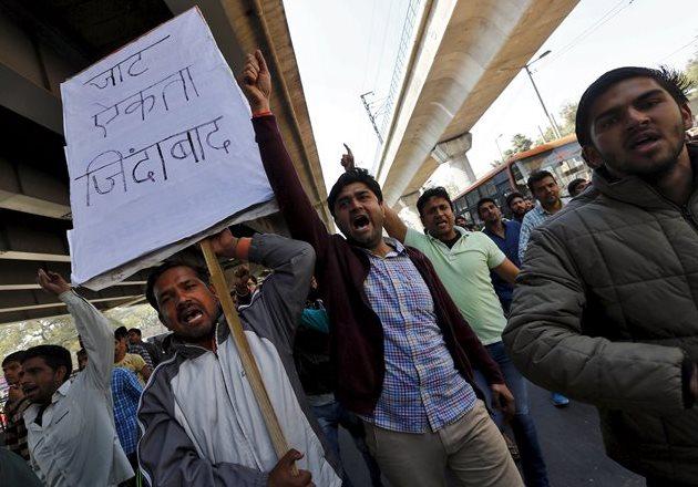 Индия, бунт джатов