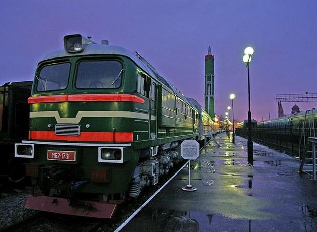 Ракетный поезд «Баргузин»