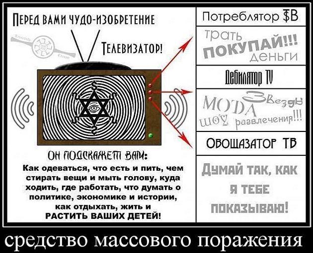 Телевизор - средство массового поражения
