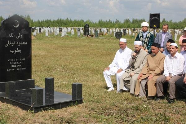 Мусульманское кладбище в Казани
