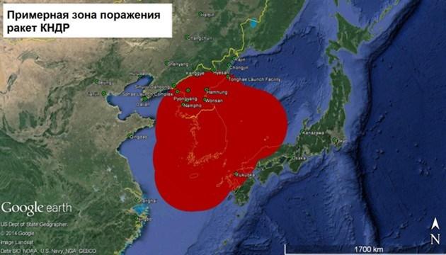 Куда летят ракеты КНДР