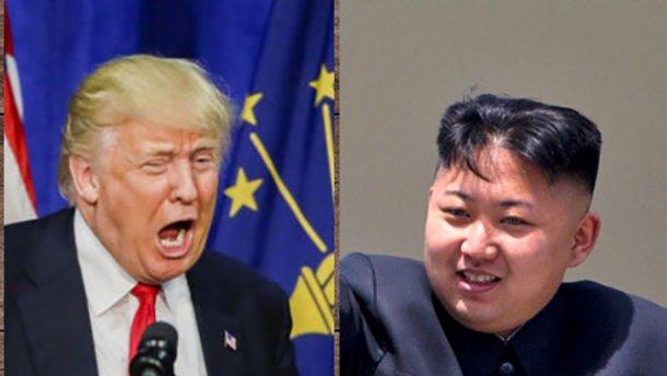 Ким Чен Ын и Дональд Трамп: война